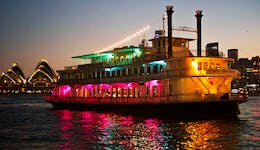 Image of the event 'Sydney Showboats: The Best-selling Sydney Harbour Dinner Cruise'