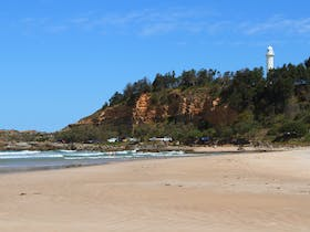 Pilot Hill and the Lighthouse, keeping an eye on Turners Beach.