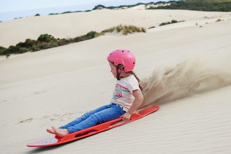 Sandboard  Toboggan Hire