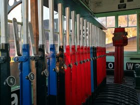 Explore our signalbox and find out how trains were safely despatched to their correct destination.