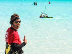 Private Kitesurfing Lesson with Audio Headset Coaching