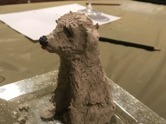 Air Dry Clay Class: Make Pottery Pets