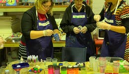 Image of the event 'Resin pour taster at The Seed Creative Workshops'