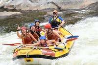Only 20 minutes from Cairns & great for first time rafters or those short on time!