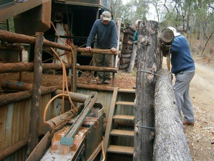 Three Creeks Tourist Gold Mine