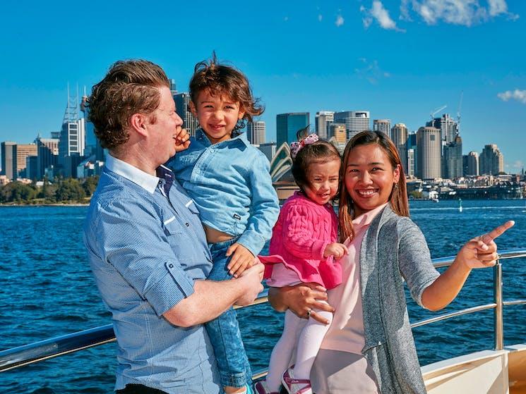 Sail through the heads, enjoying Sydney Harbour sights
