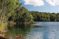 Swimmers at Lake Eacham