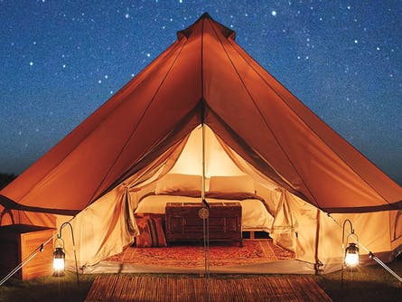 Glamping in the Garden