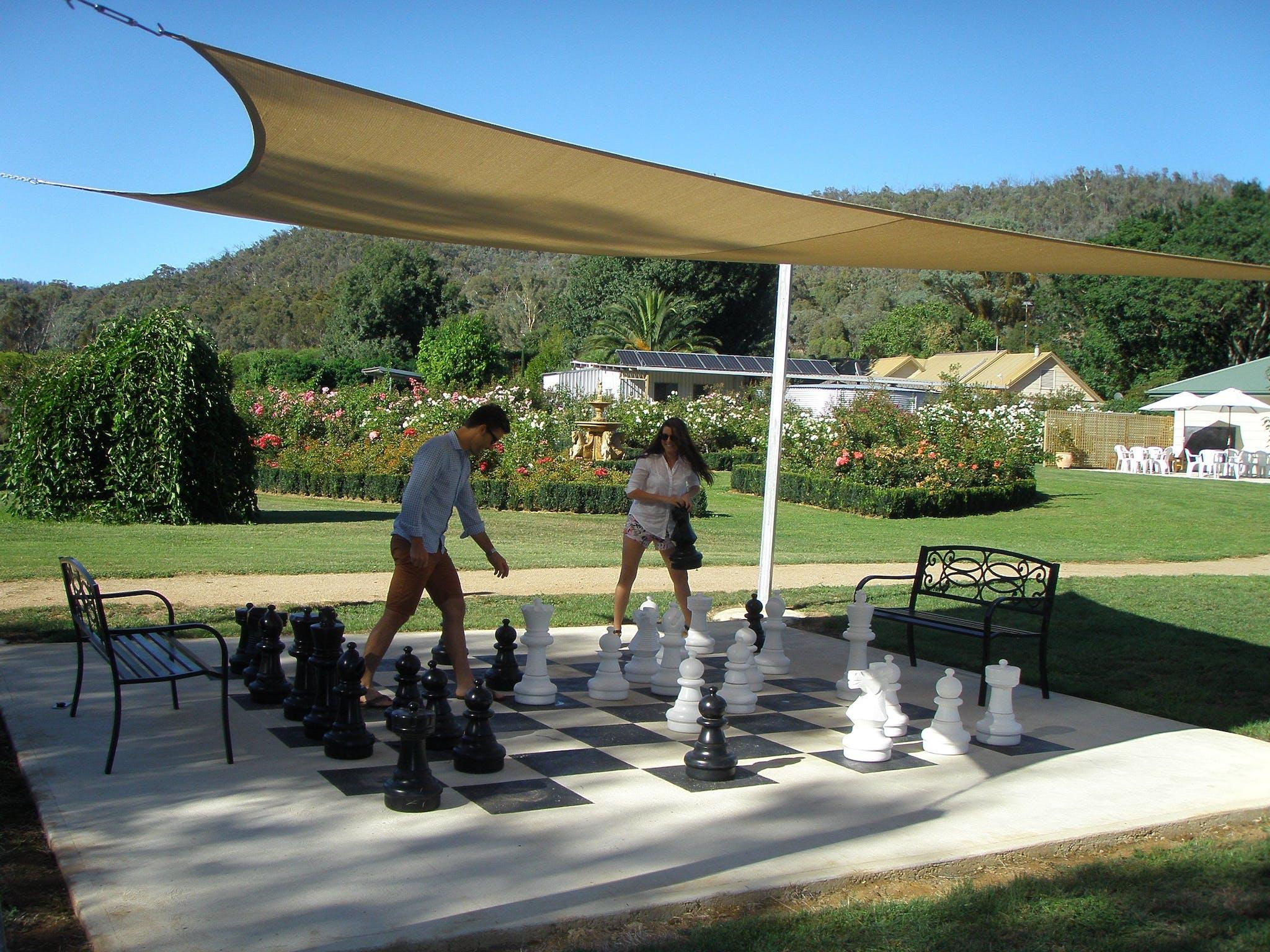 Brookfield Maze Chess