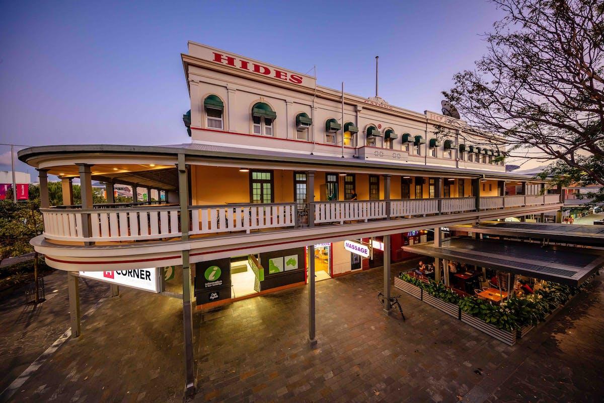 Hides Hotel balcony