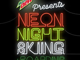 Fireworks Displays and Neon Night Skiing
