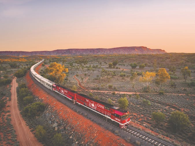 The Ghan Darwin to Adelaide