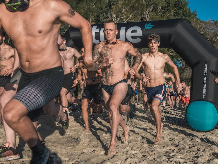 Everyday Athletes from around the world compete in Jervis Bay