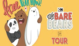 Image of the event 'Cartoon Network's We Bare Bears on Tour'