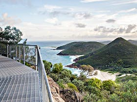 Coastal view from Tomaree Head Summit walk. Photo: John Spencer OEH