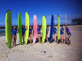 Salty Girls Surf School
