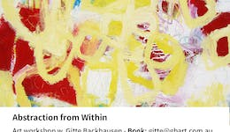 Image of the event 'Art Workshop: Abstraction from Within with Gitte Backhausen'