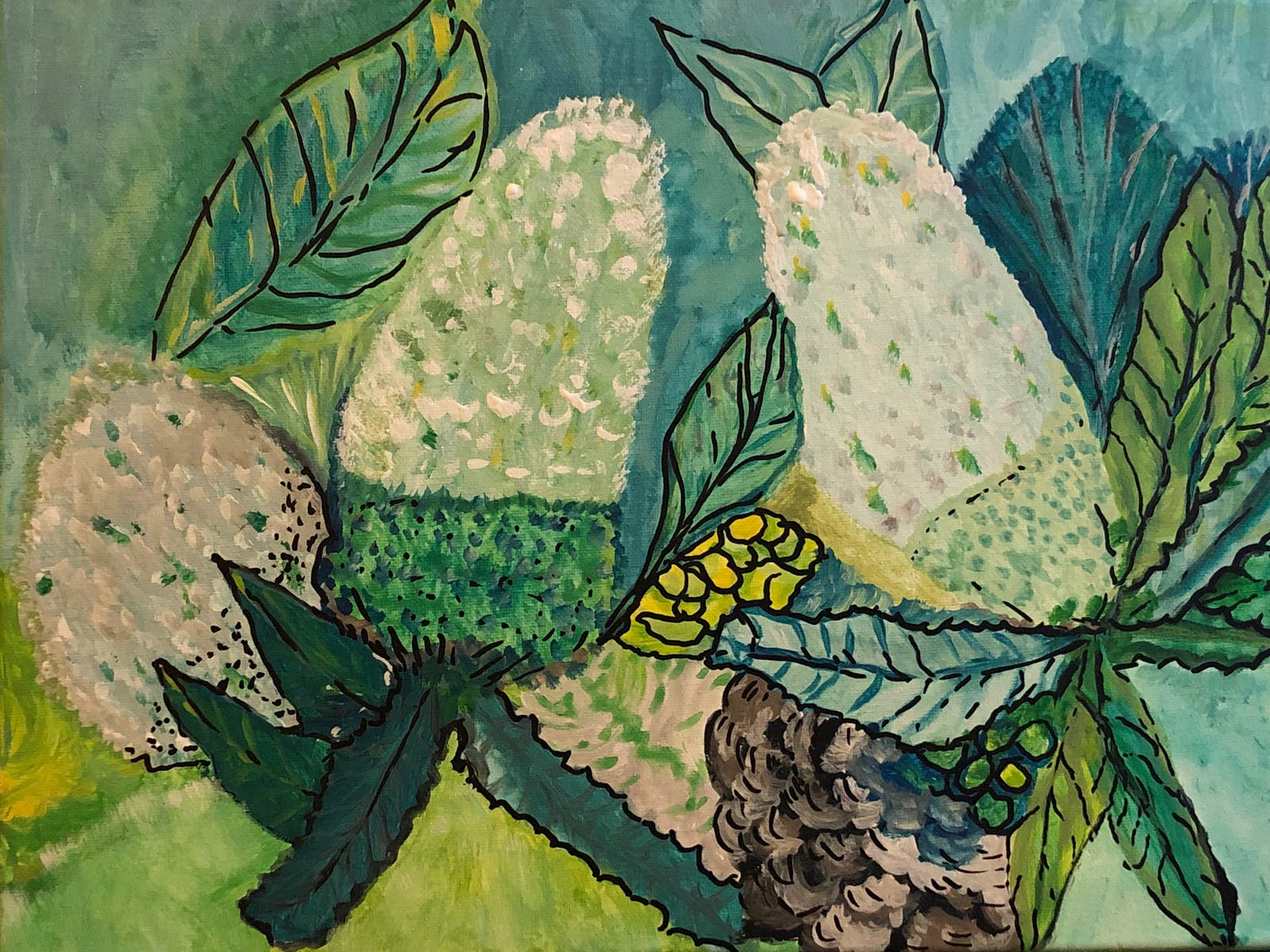 Image for Beginner's Acrylic Painting Class: Banksias
