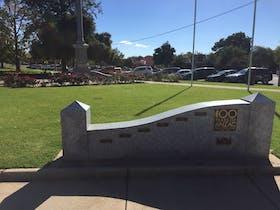 image of Wangaratta Memorial Garden