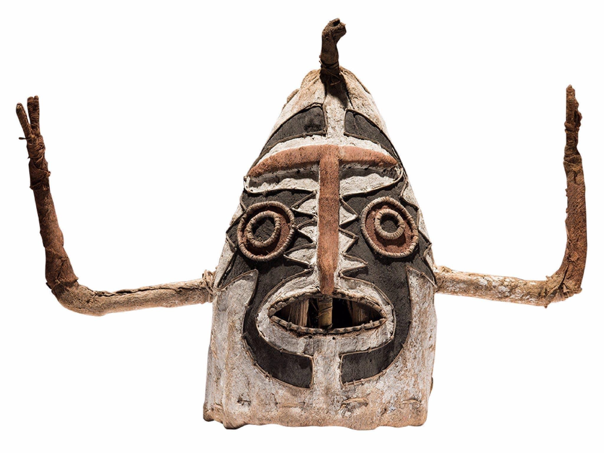 Eharo mask, Papua New Guinea, c. 1913