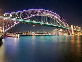Vivid Sydney Harbour Cruises with Eastcoast Sailing