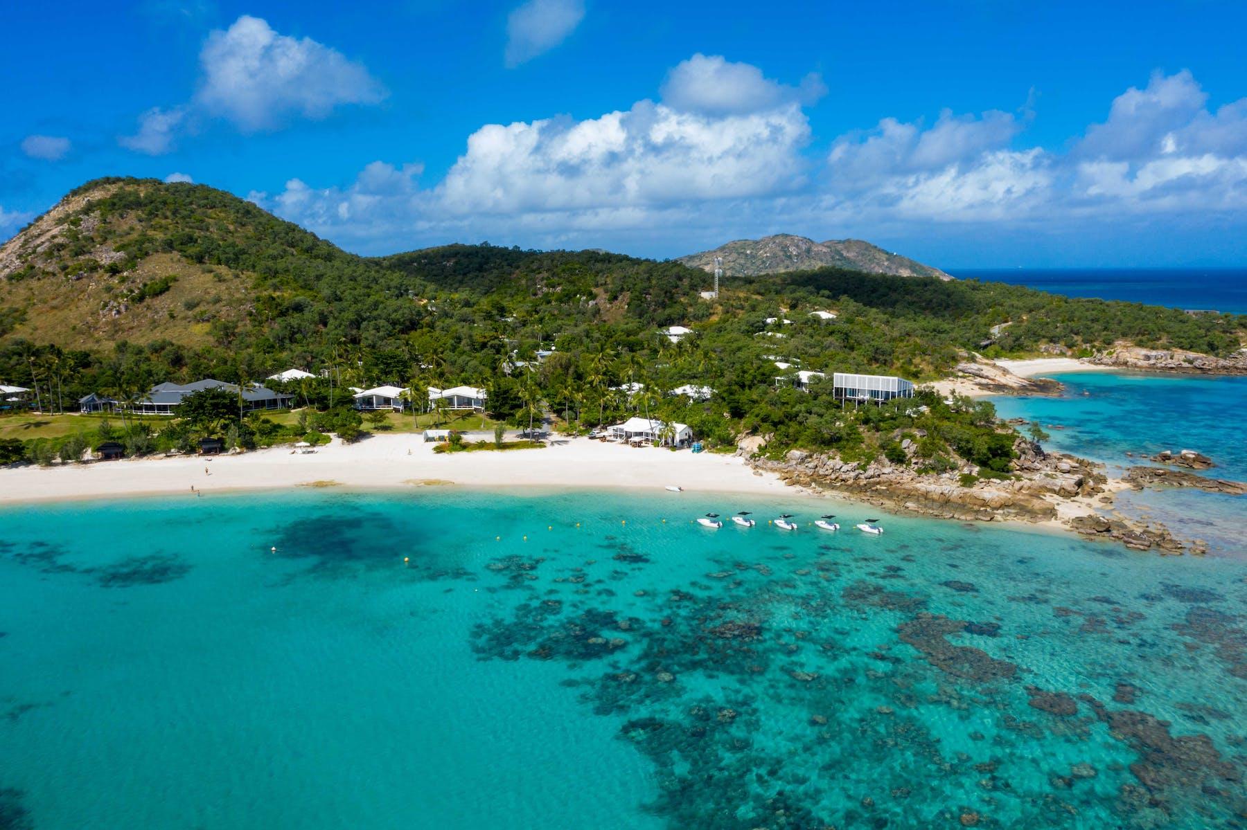 Aerial View - Lizard Island