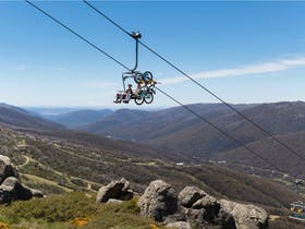 Thredbo Downhill Bike Run