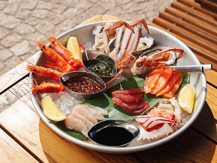 Opera Bar seafood platter