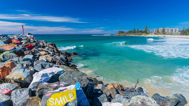 Port Macquarie Town Beach Breakwall