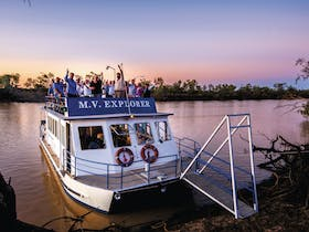 Drover's Sunset Cruise, Longreach, Outback Queensland