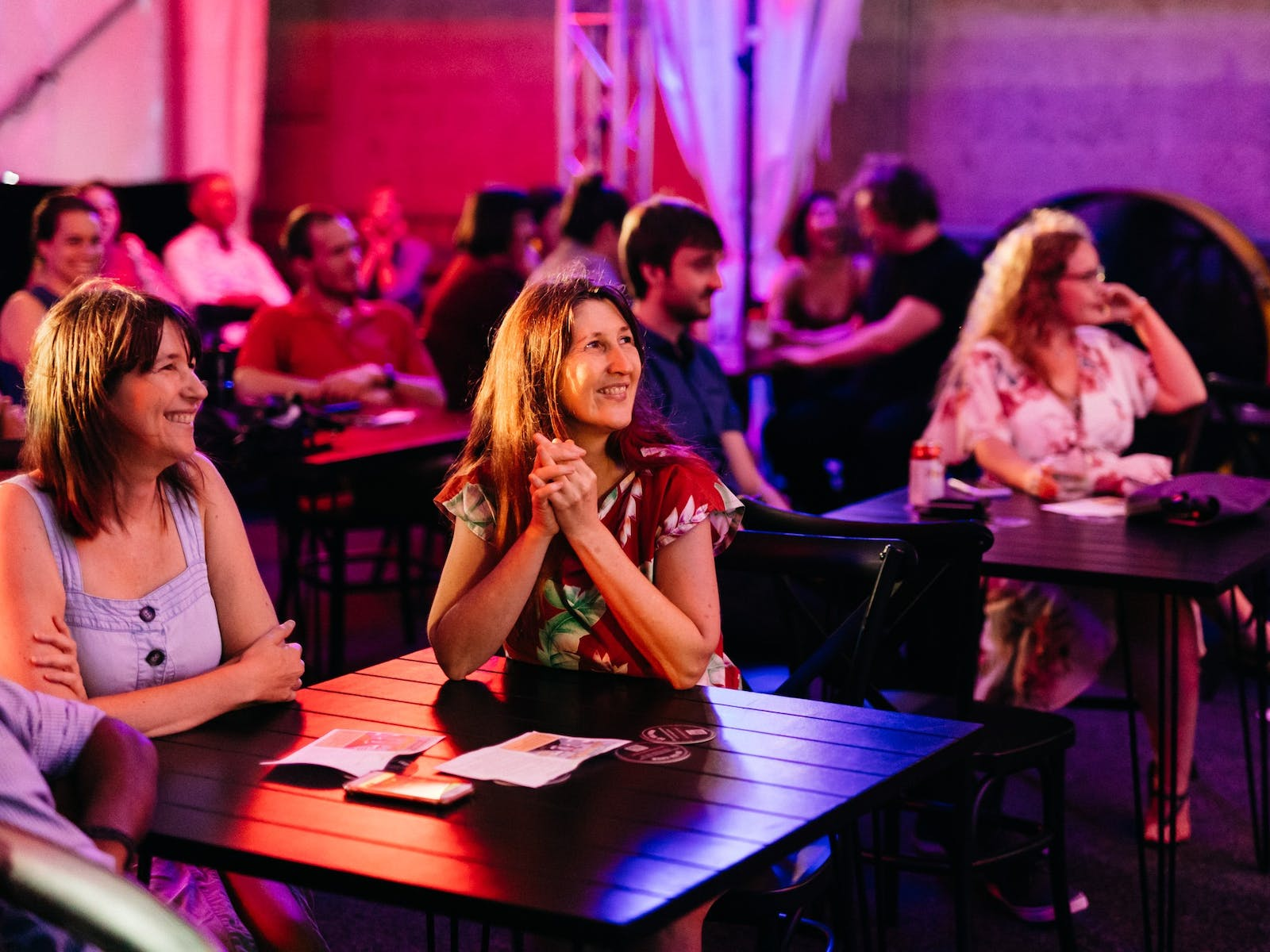 Trivia night at the museum