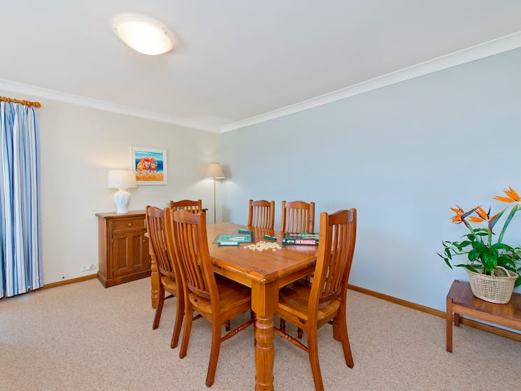 second dining area in lounge room