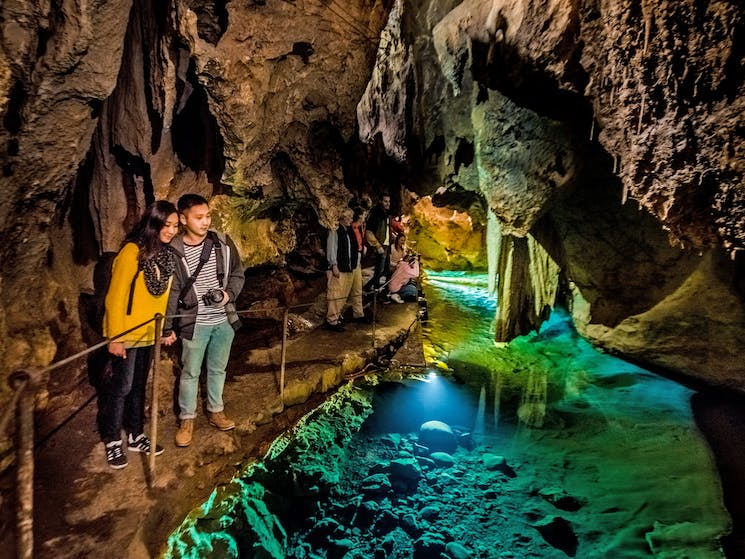 The Imperial Cave tour includes the River Styx.