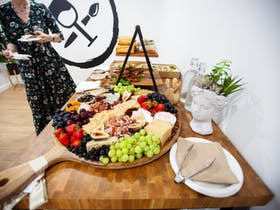 Grazing board in Pinot and Picasso Studio
