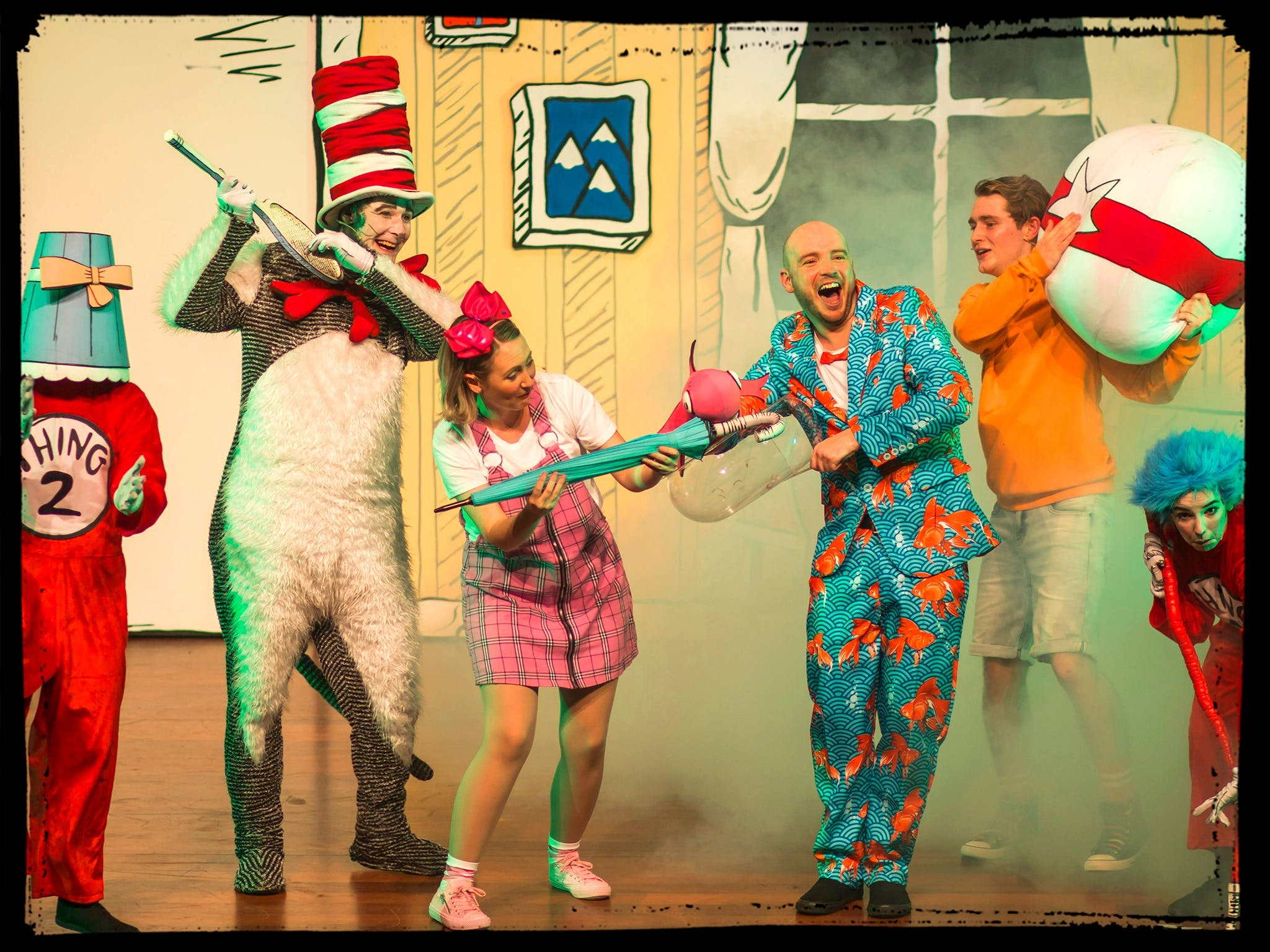 Image for Dr Seuss's The Cat in the Hat - Live on Stage
