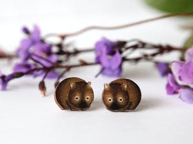 Little gorgeous studs with many cute australian animals, easy gift that travels light.