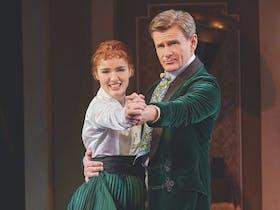Anna O'Byrne and Charles Edwards