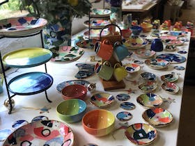 Ruby Pilven Ceramics Christmas Open Studio Sale