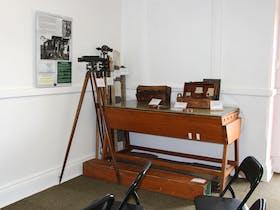 Railway surveyors display