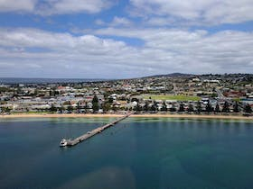 Arial View pf Port Lincoln Foreshore