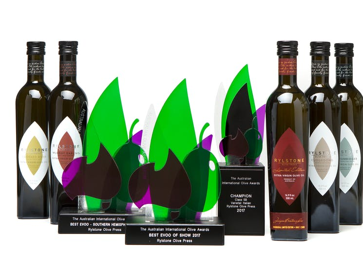 Rylstone Olive Press - awards