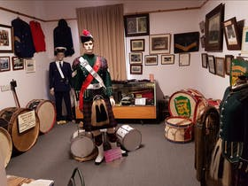 pipe band room