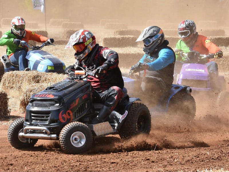 Image for Point Pass Lawn Mower Race