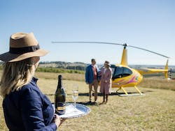 Helicopter Winery Tour