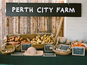 Perth City Farm - Farmer's Market