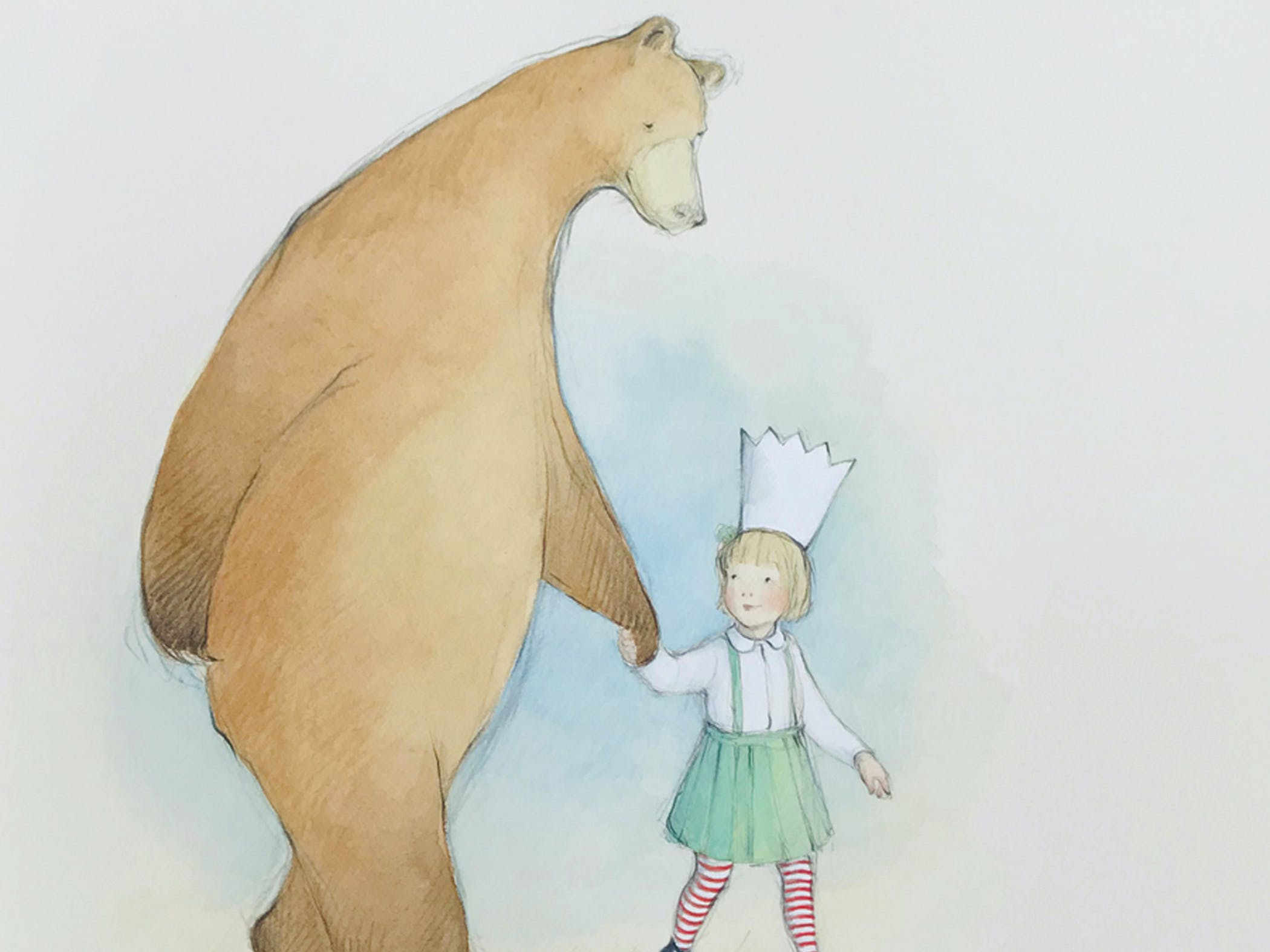 Maudie and Bear ~ Illustration by Freya Blackwood