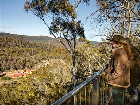 Yarrangobilly Caves – Bluff lookout walk