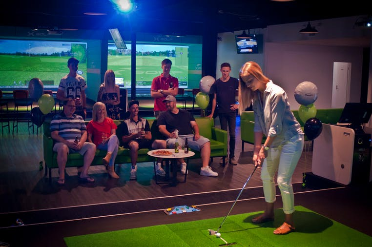 XGolf Marion Real Fast Fun Indoor Golf