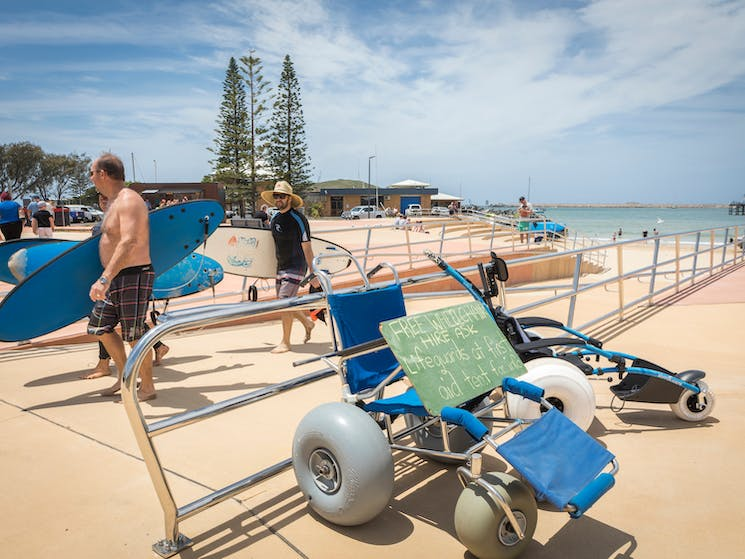 Jetty Beach Accessible