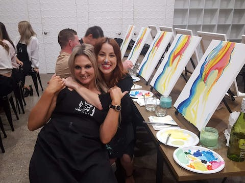 <span>Paint and Sip Experience</span>